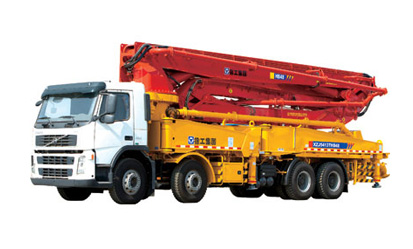 XCMG HB48-B-C-D   Truck-mounted Concrete Pump