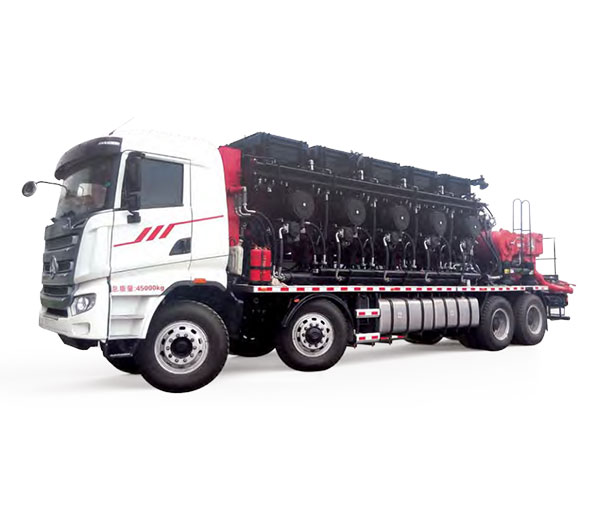 SANY Model-2500 (5-shot) Distributed Power Hydraulic Transmission Fracturing Truck  Cementing&Fracturing Equipment