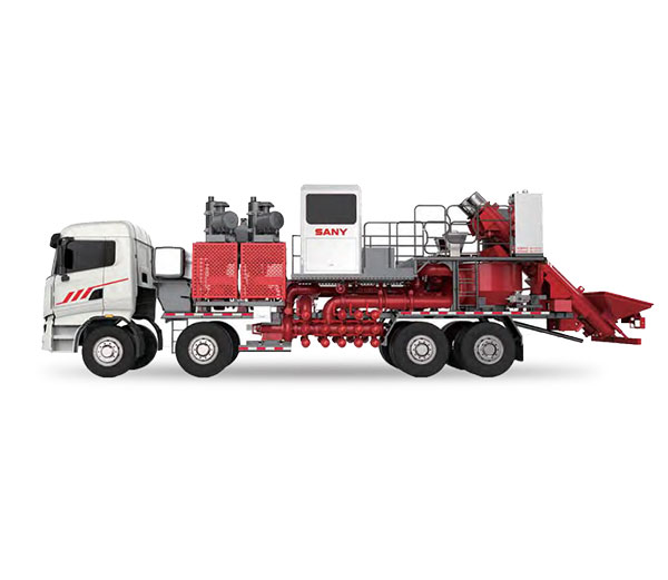SANY 100BBL Twin Engine & Pump Blender Truck  Cementing&Fracturing Equipment