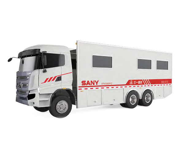 SANY SYN5160XYQ Instrument Truck with SANY 6×4 CHASSIS  Cementing&Fracturing Equipment