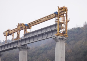 XCMG TJ180   Bridge Girder Erection Machine