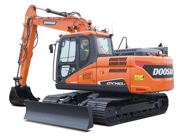 DOOSAN DX140LC-5 Medium Excavator