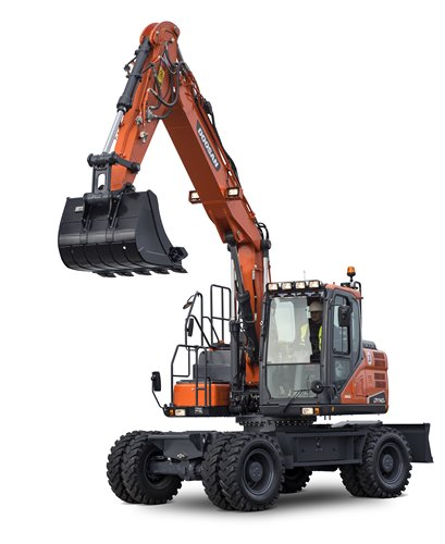DOOSAN DX140W-5 Wheel Excavators