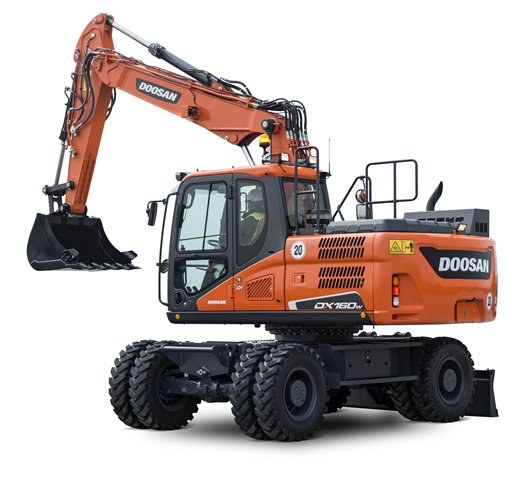 DOOSAN DX160W-5 Wheel Excavators