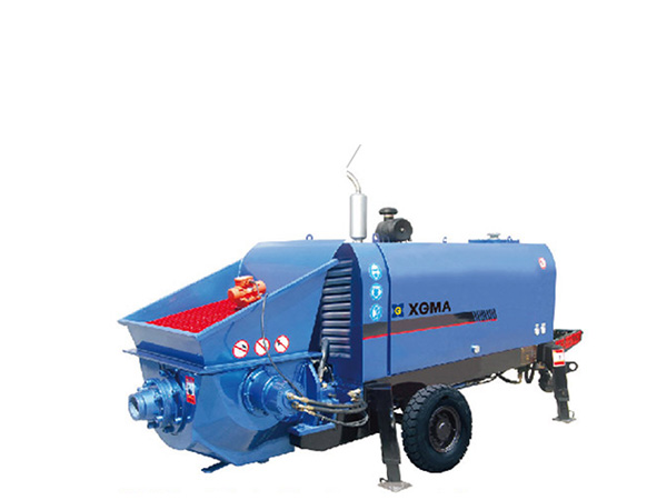 XGMA HBT and DHBT series (small and medium) Large Aggregate Concrete Pump