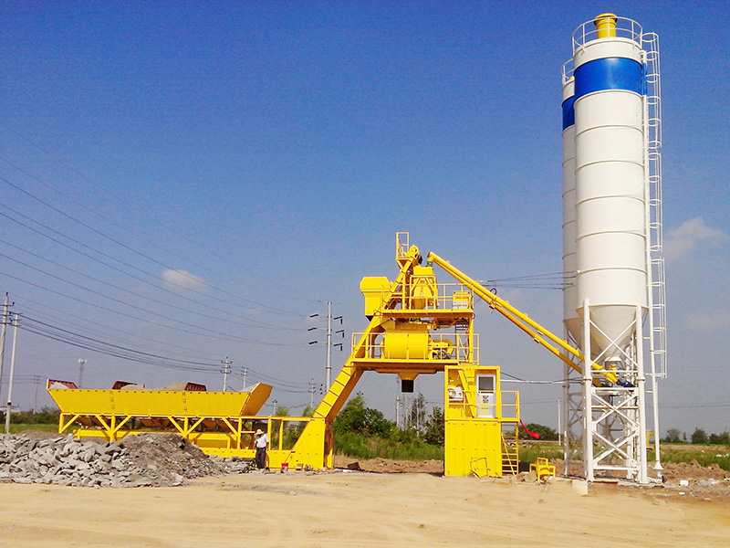 Shantui HZN40, HZS50, HZS75, HZS100, and HZS150 Special Batching Plants