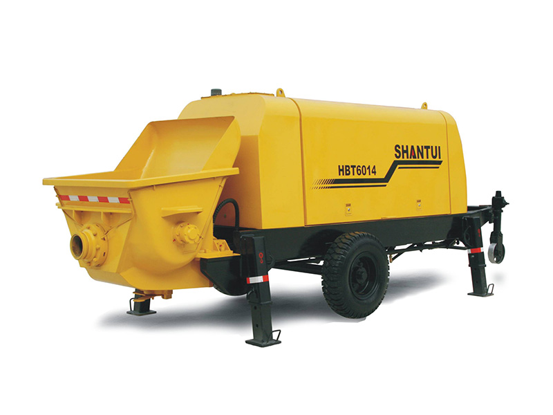 Shantui HBT6014 Concrete Pump Trailer Urbanization Series Equipment