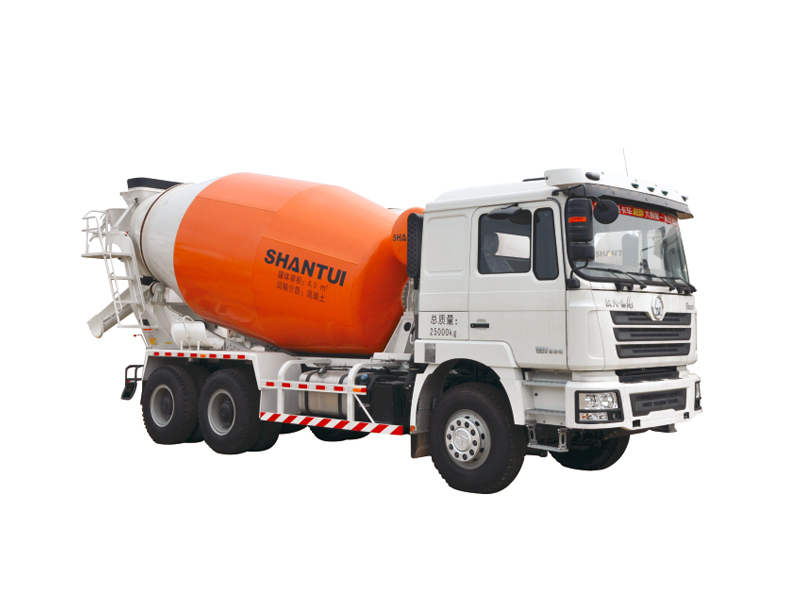 Shantui Truck Mixer Series with Delong Chassis from Shaanxi Automobile Group