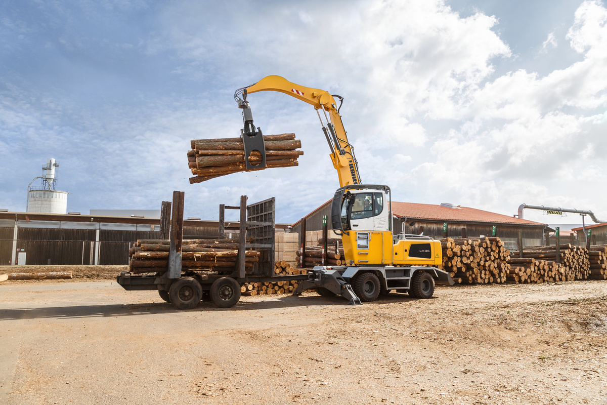Liebherr LH 35 M Timber Litronic