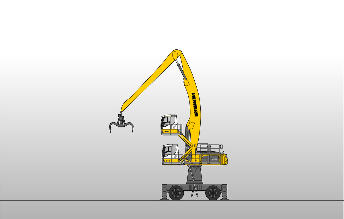 Liebherr LH 80 M High Rise Industry Litronic