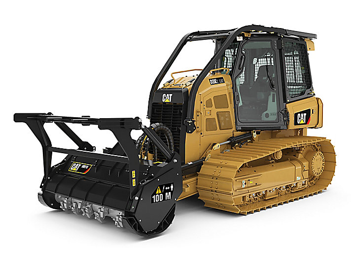 Cat Small Dozers D3K2 Mulcher