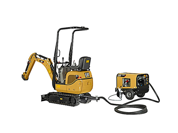 Cat Mini Excavators 300.9D VPS & HPU300