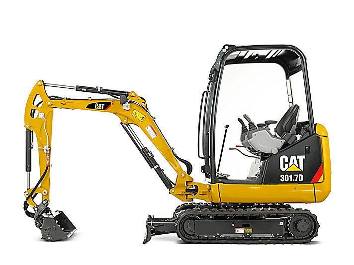 Cat Mini Excavators 301.7D