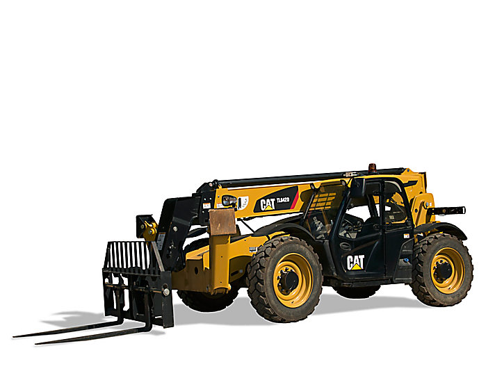 Cat Telehandlers TL642D with Stabilizers