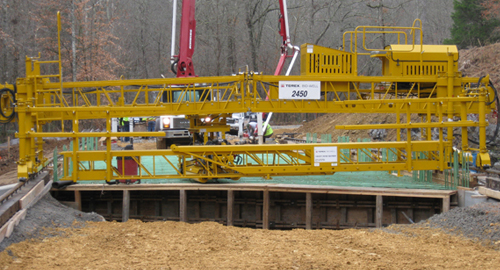 TEREX 2450 Bridge Pavers