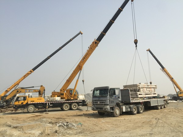 Overseas Construction Cases: XCMG Equipment from the East Serves Overseas Clients