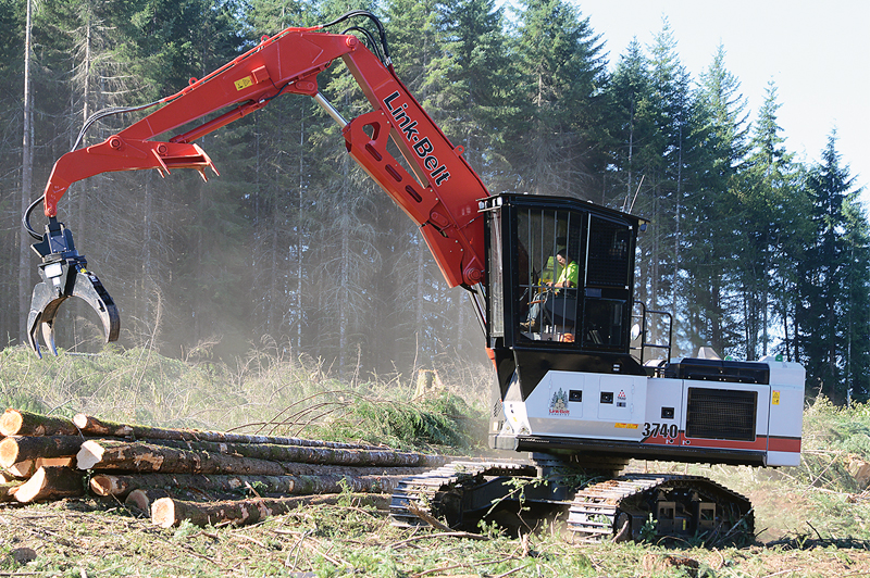 ZHUYOU Link-Belt 3740 TL Forestry Equipment 40 Series