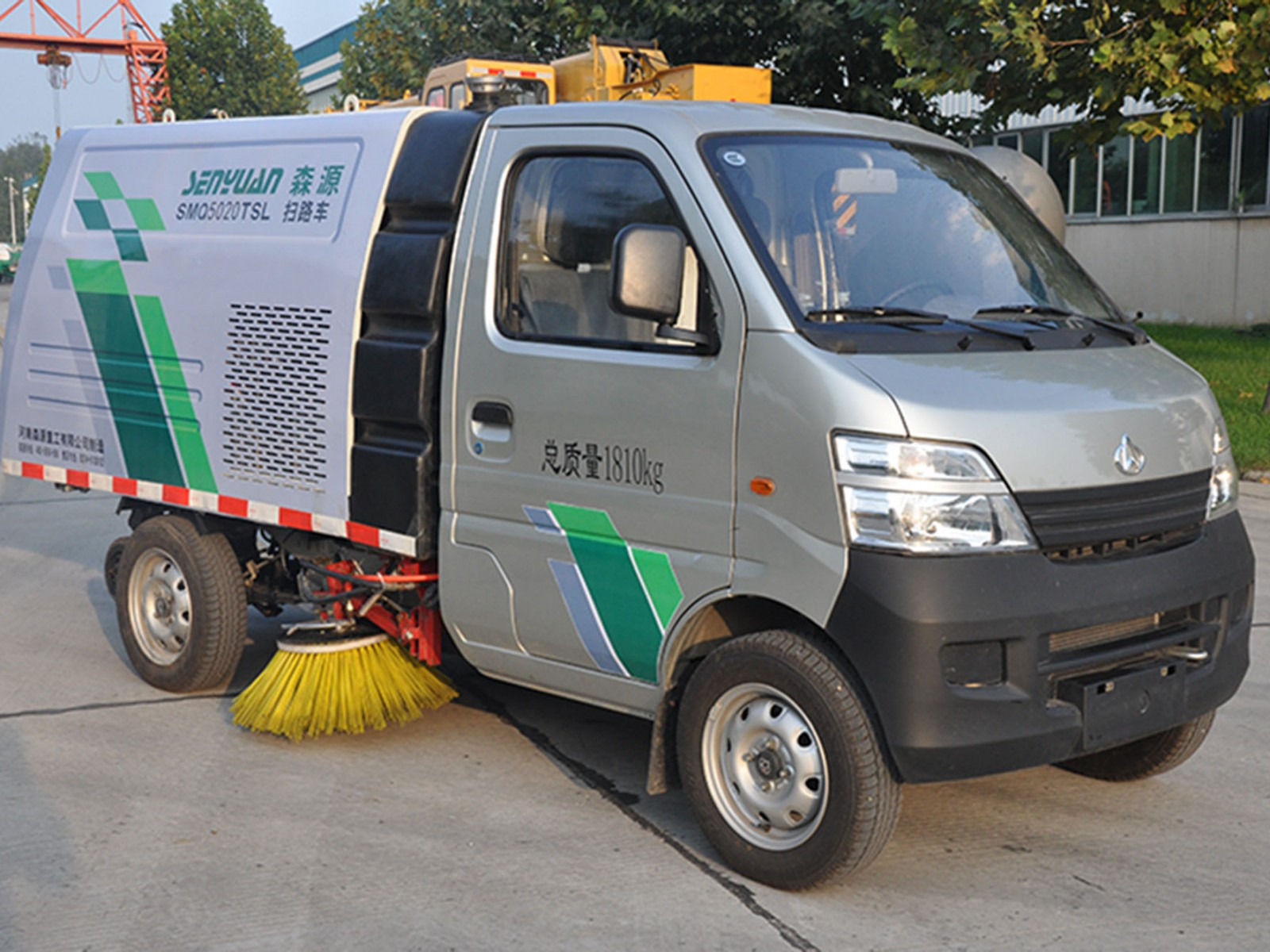 SHENGYUAN Sweeper Truck with Changan Chassis