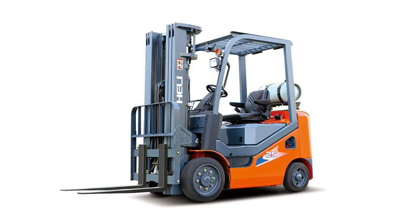 HELI 2-3.2t gasoline / LPG counterbalanced cushion Forklift Trucks. Engine Forklift