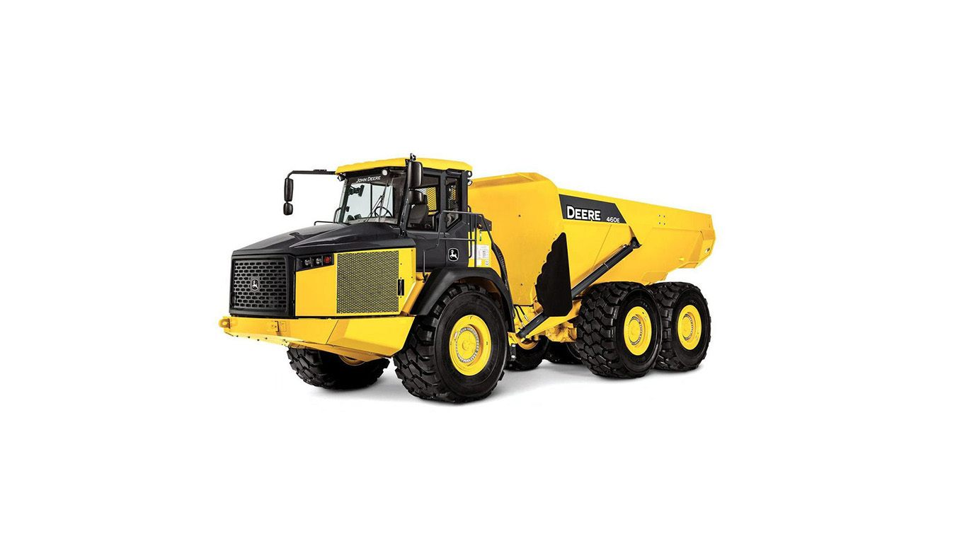 DEERE 460E ADT Articulated Dump Trucks