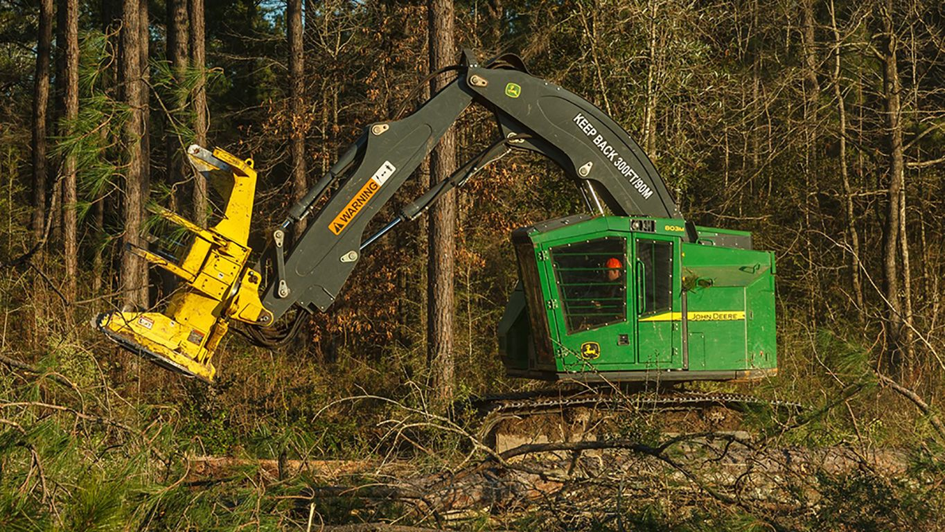 DEERE 803M Tracked Feller Buncher Tracked Feller Bunchers