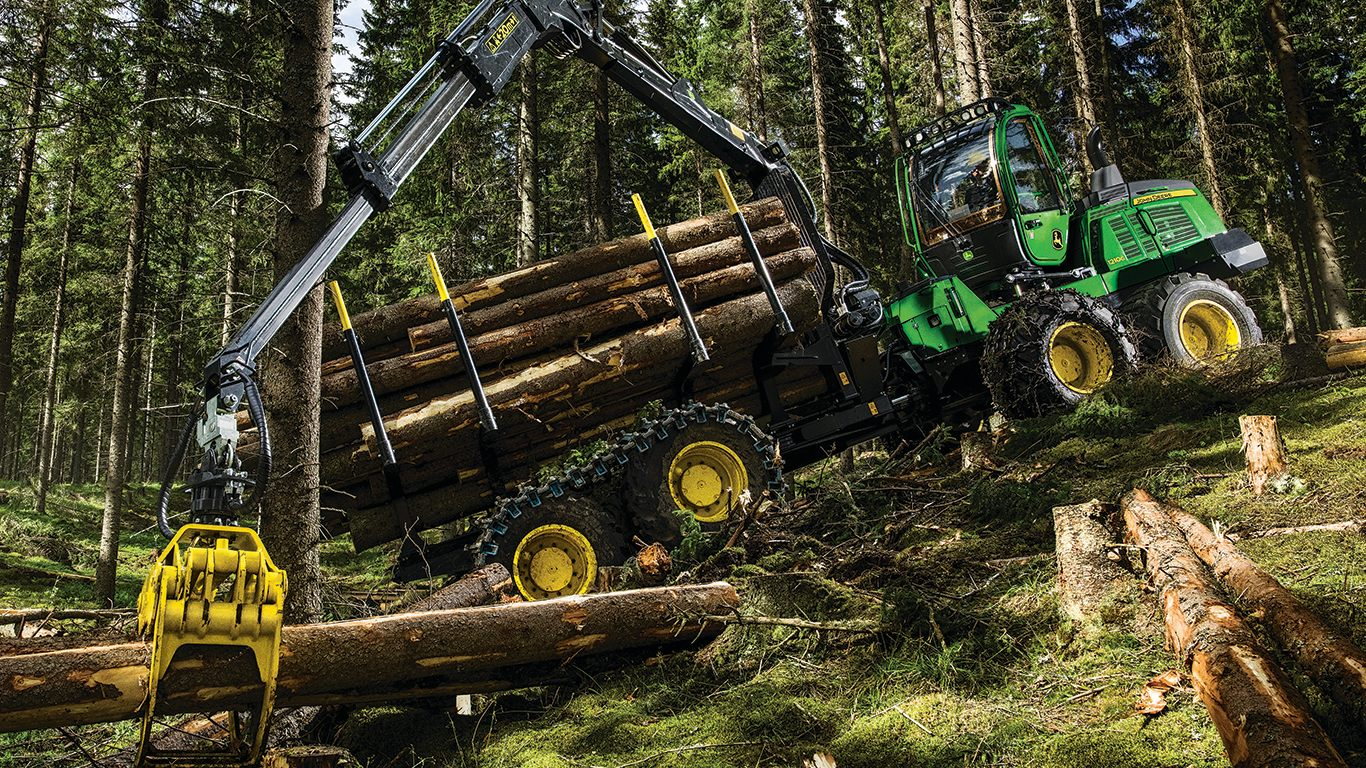 DEERE 1210G Forwarder Forwarders