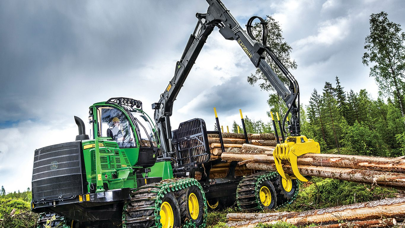 DEERE 1910G Forwarder Forwarders