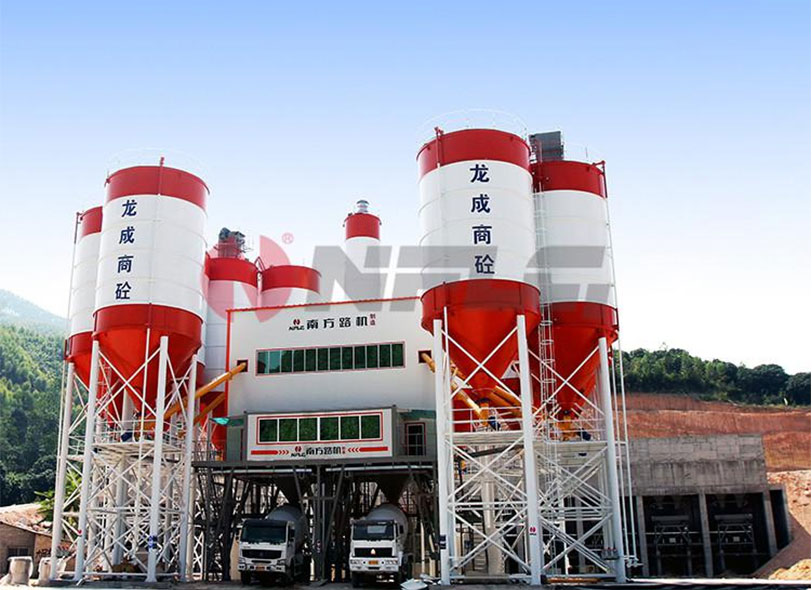 NANFANGLUJI Common Commercial Concrete batching plant