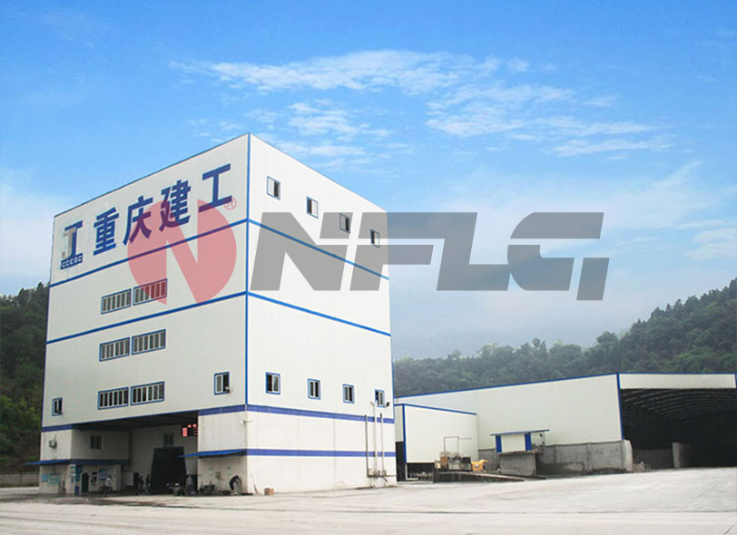 NANFANGLUJI HZS Fully Environmental-friendly Commercial Concrete Mixing Plant