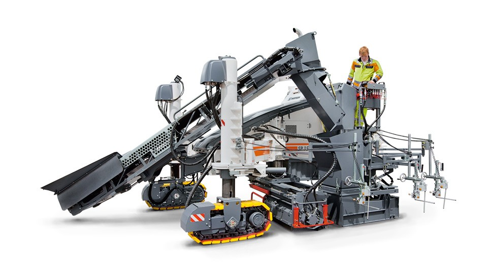 WIRTGEN SP 15i Slipform pavers